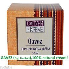 Comfrey Cream ( for rheumatism , gout , joint diseases ) – Gavez krema