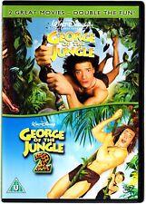 GEORGE OF THE JUNGLE 1 & 2 DVD  BRENDAN FRASER  REGION 4
