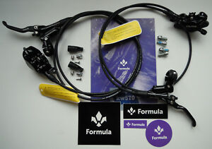 Formula - Brake Set Cura 2021 Glossy Black (front + rear) Ready to use - NEW