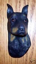 """Doberman Pinscher Dog rubber fridge magnet - 2""""x 4"""""""