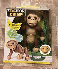 Zoomer Chimp Interactive Chimpanzee Monkey 100+ Tricks 200+ Sounds Toy Animal