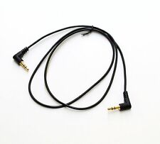 StarTech.com MU3MMS2RA Slim 3.5mm 3 Feet Right Angle Stereo Audio Cable - M/M