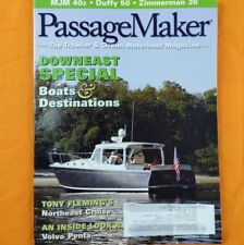 Passage Maker April 2010 Downeast Special, Tony Fleming, Volvo Penta