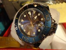 Invicta 22850 Reserve Blue 50mm Grand Diver Swiss Auto SW200 Bracelet Watch NEW!