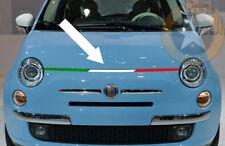1 X BANDE 92cm TRICOLORE ITALIA CAPOT FIAT 500 ABARTH DECO AUTO STICKER BD519-2