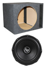 "Audiopipe TXX-BD3-15 15"" 2400W Car Audio Subwoofer TXXBD315 + Vented Sub Box"