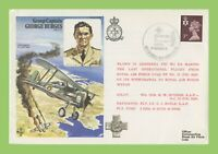 G.B. 1978 George Burges, Closure of RAF Luca Flown Cover