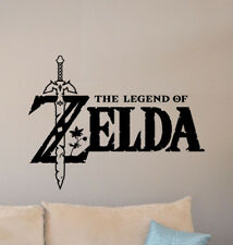The Legend Of Zelda Wall Decal Master Sword Sign Vinyl Sticker Poster Decor 909