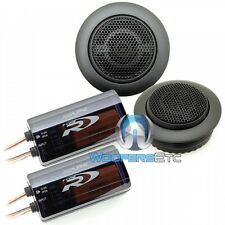 "ALPINE SPR-10TW 1"" CAR AUDIO TYPE-R 450W SILK DOME TWEETERS & CROSSOVERS NEW"