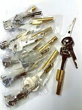 10 Schlüssellochsperrer für Zimmertür mit je 3 Schlüsseln
