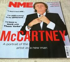 PAUL McCARTNEY - Multi-Page Photo Feature in UK NME Magazine, Oct 2013