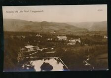 Wales Brecknockshire LLANGAMMARCH Bungalow Hotel RP PPC mailed from 1912 vf pmk