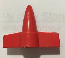 RPV Red Nose Cone Vintage 1988 GI Joe Hasbro Vehicle Accessory Lot A