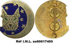 Esc. de Chasse Tout Temps 12- 30, lynx aux yeux verts, émail, Drago (617)(2569)