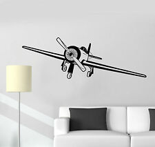 Vinyl Wall Decal Aircraft Airplane Plane Pilot Children's room Stickers (1266ig)