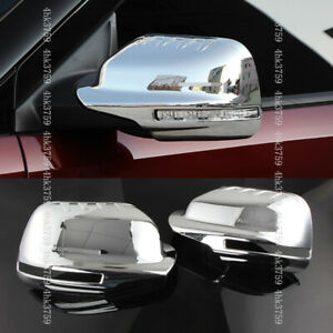 For Ford Explorer 2016-2019 Chrome Auto Side Rearview Mirror Moulding Cover Trim