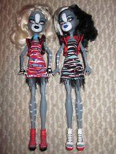 Monster High Purrsephone Meowlody Grey Gray Cat Werecat Twin Zombie Shake