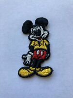 Vintage Mickey Mouse Small Patch Disneyland Walt Disney Productions Sew Craft