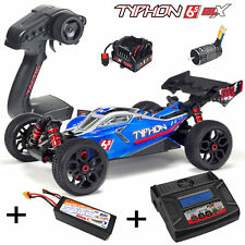 ARRMA ar106028 Typhon V3 6S 2018 4WD 1-8 Buggy RTR + 4S 5400 Battery + Charger