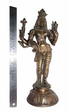 Lovely Unique Lovely Statue of Lord Ardhanarishvara with Silver & COPPER ARTWORK