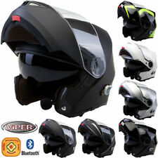 Viper Gloss Motorcycle Plain Vehicle Helmets