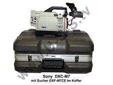 Sony DXC-M7 Studiokamera mit Sucher DXF-M7CE und Koffer
