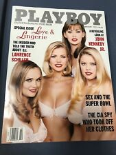 Playboy Magazine February 1997 Love and Lingerie