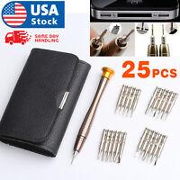 25 in 1 Magnetic Screwdriver Set Precision Repair Tool Kits for PC Watch Camera