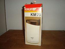 Krups KM75 Typ 203 elektrische Kaffeemühle Gebraucht mit OVP Mühle