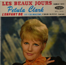 """PETULA CLARK - Les beaux jours - L ENFANT DO VOGUE EP 8035 7 """" (K688)"""