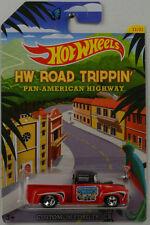 HW Road Trippin Pan-American 1956 Custom Ford Truck 1:64 Hot Wheels USA CBJ03