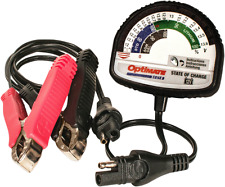 Tecmate Optimate 12V battery charger & tester motorcycle harley honda buell