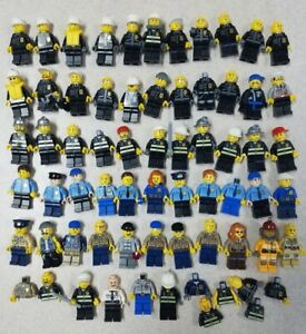 Lego city figurine-woman police officer of the marshes-lot kg cty548
