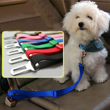 Pet Dog Cat Car Seat Belt Safety Seatbelt Harness Leash Lead Adjustable