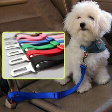 New Adjustable Dog Pet Car Safety Seat Belt Harness Restraint Lead Travel Leash