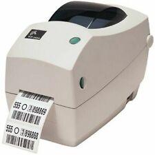 Zebra - TLP2824 Plus Thermal Transfer Desktop Printer for labels, Receipts, Barc
