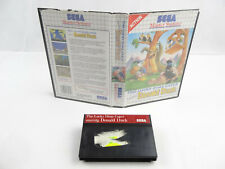 The Lucky Dime Caper Donal Duck Sega Master System No Manual PAL