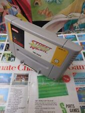 Super Nintendo SNES:Street Racer [TOP COURSE & 1ERE EDITION] Fr