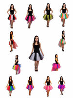 Tutu Skirt 8 Layer Bustle 80s Fancy Dress Costume Hen Party Halloween  Festival
