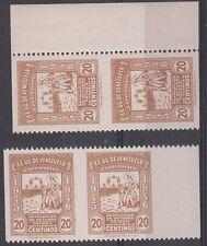 Venezuela Scott C219 Mint NH (2 pairs imperf between)