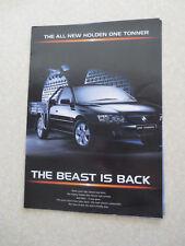 Holden One tonner ute advertising brochure