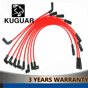 Spark Plug Wires Set of Chevy Suburban Express Van Tahoe 5.7L 12192364 1995-2005