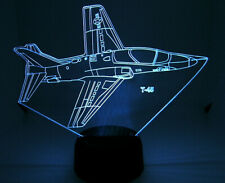 T 45 RC Airplane 3D Acrylic Light with Extras