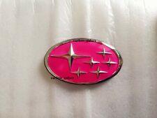 Subaru GC8 Pink Star Front Grill Emblem Badge JDM WRX STI 22B Made in Japan RARE