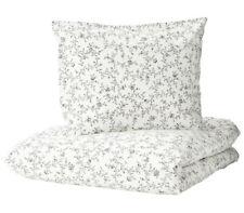 IKEA KOPPARRANKA Bettwäsche Set 2/3-tlg Bettwaren Weiß Baumwolle 150x200 200x200