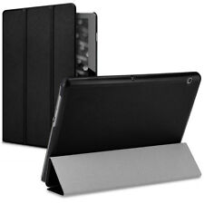 Smart Cover piel sintética para Huawei MediaPad t3 10 negra, funda protectora, funda