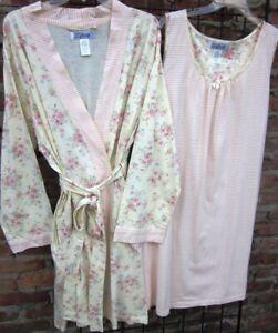 New  Beautiful Robe & Gown Set  1X   2X   3X