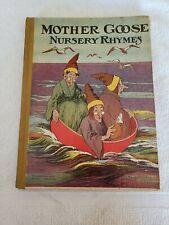 Rare Mother Goose Nursery Rhymes Circa 1900?? M A Donohue & Co #170