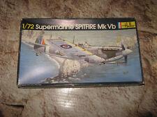 VINTAGE BOX ART 1/72 KIT HELLER SPITFIRE 5B OVER DOVER WWII UK 281