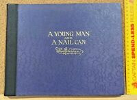 SIGNED!!! ANTIQUE 1921 MACROBERTSONS CHOCOLATES YOUNG MAN & NAIL CAN 1ST ED HB!